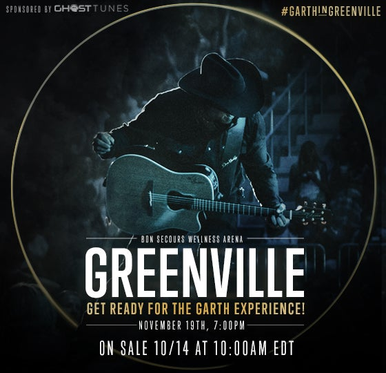 More Info for Garth Brooks Makes His First Appearance in Greenville in 25 Years!